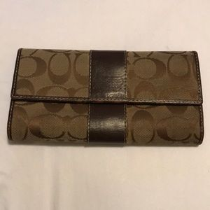 COACH two bi-fold wallet